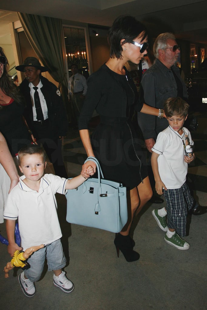 Beckhams Shopping at the Grove