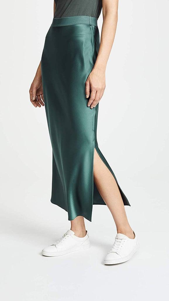 8362e20f3cf6 Theory Women's Maxi Slip Skirt | Gift Ideas For Women | POPSUGAR ...