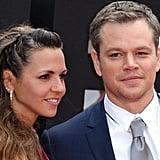 Matt Damon at Jason Bourne UK Premiere July 2016 Pictures