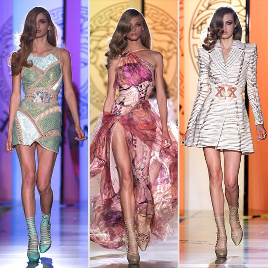 Review and Pictures of the 2012 Fall Couture Versace Show