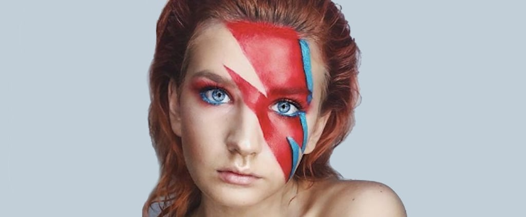 David Bowie Halloween Makeup