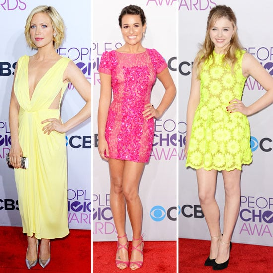 Rainbow Hues Reign Supreme at the People's Choice Awards