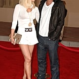 Gwen and Gavin walked the red carpet arm in arm at LA's American Music Awards in November 2006.