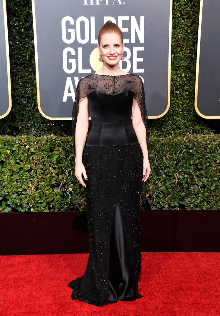 Jessica Chastain at the 2019 Golden Globes