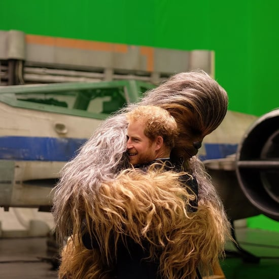 Prinz William und Harry am Set von Star Wars