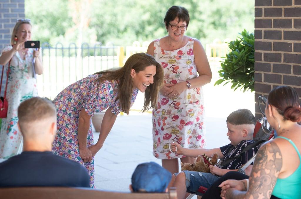 Catherine, Duchess of Cambridge Wears Faithfull The Brand