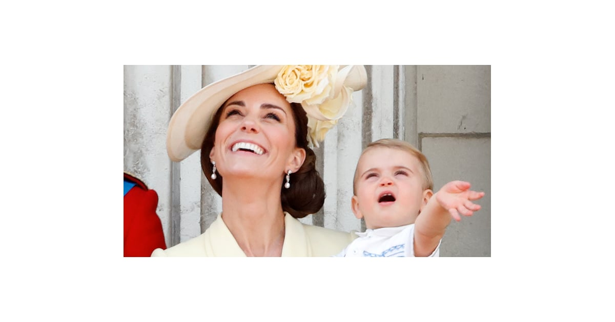 """Prince Louis Apparently Hates Social Distancing Because He Likes to """"Cuddle Everything"""""""