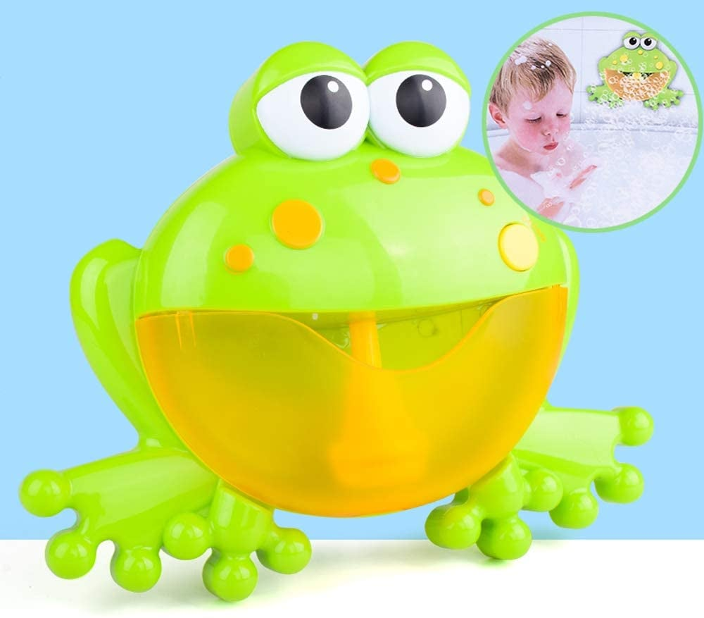 Musical Frog Baby Bath Toy Bubble Machine