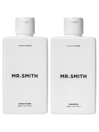Mr. Smith Shampoo and Conditioner, $29.95 each
