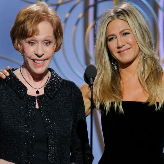 Why Did Jennifer Aniston Pull Carol Burnett's Ear?