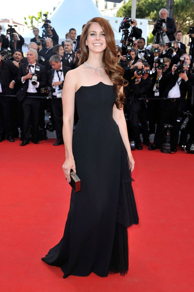 Lana Del Rey stepped onto the red carpet for the opening of the Cannes Film Festival and the premiere of Moonrise Kingdom.