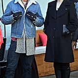 Shia LaBeouf and costar Evan Rachel Wood roamed the streets of Park City, UT, on Tuesday.