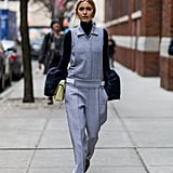 If You Have a Bell-Sleeve Shirt, Wear It Under a Jumpsuit or Overalls