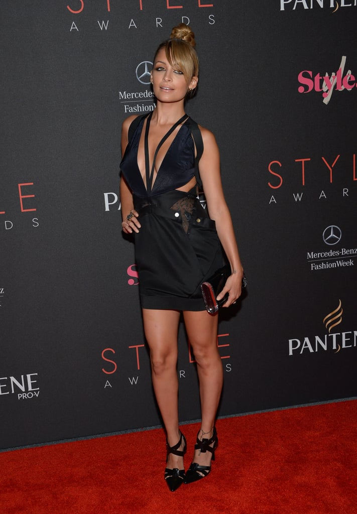 Nicole Richie struck a pose on the red carpet at the Style Awards in NYC.