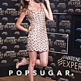 Gisele Bündchen posed at the Pantene Expert promotion in Brazil.