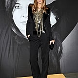 Model Malgosia Bela wore one of my favorite Givenchy looks from Fall '08. The tangled up chain necklaces are out of this world.
