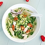 Chicken Pho Courgette Noodle Soup