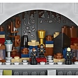 The Room of Requirement, featuring the Goblet of Fire and the vanishing cabinet.