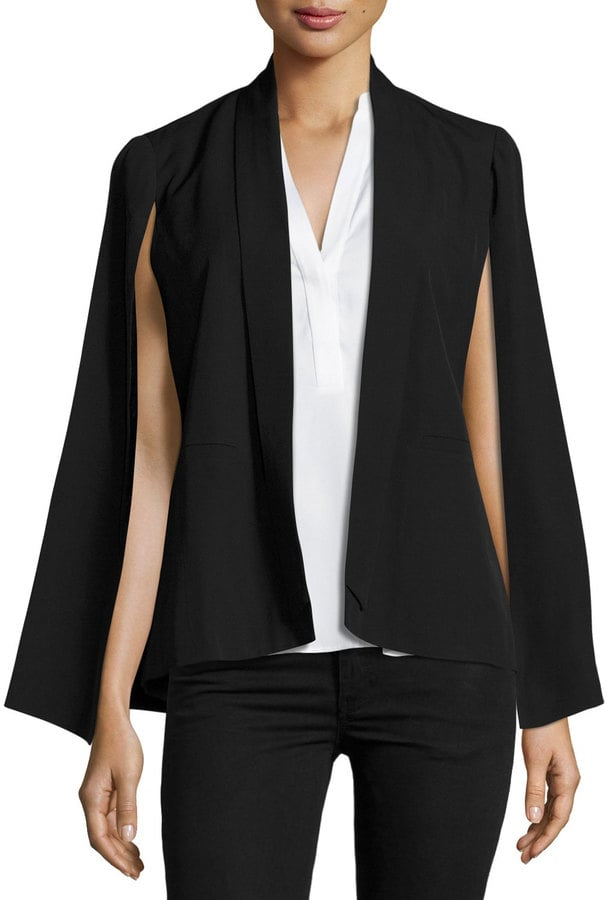 Love Scarlett Cape-Sleeve Jacket, Black ($69)