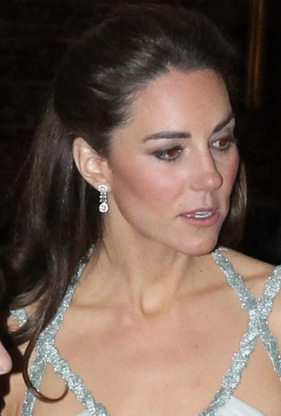 Kate Middleton's Half-Up Half-Down Hairstyle From All Angles