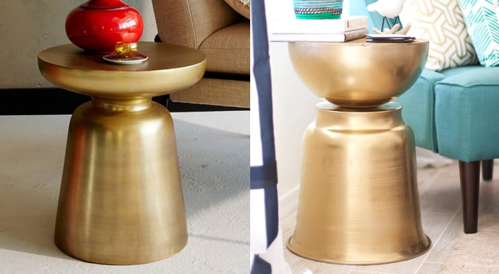 Martini Side Table buy it: brass martini side table ($119, originally $149) diy it