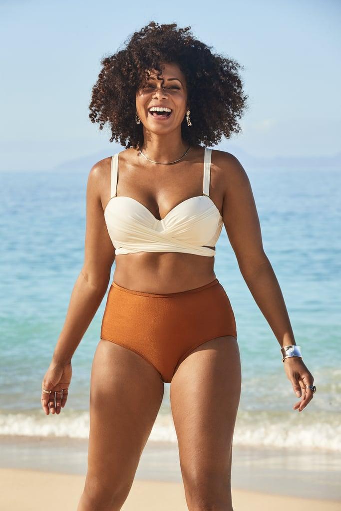 GabiFresh x Swimsuits For All Cup Sized Wrap Underwire Bikini Set