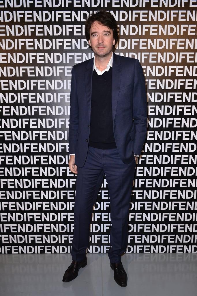 Antoine Arnault at the Fendi Fall 2013 show in Milan.