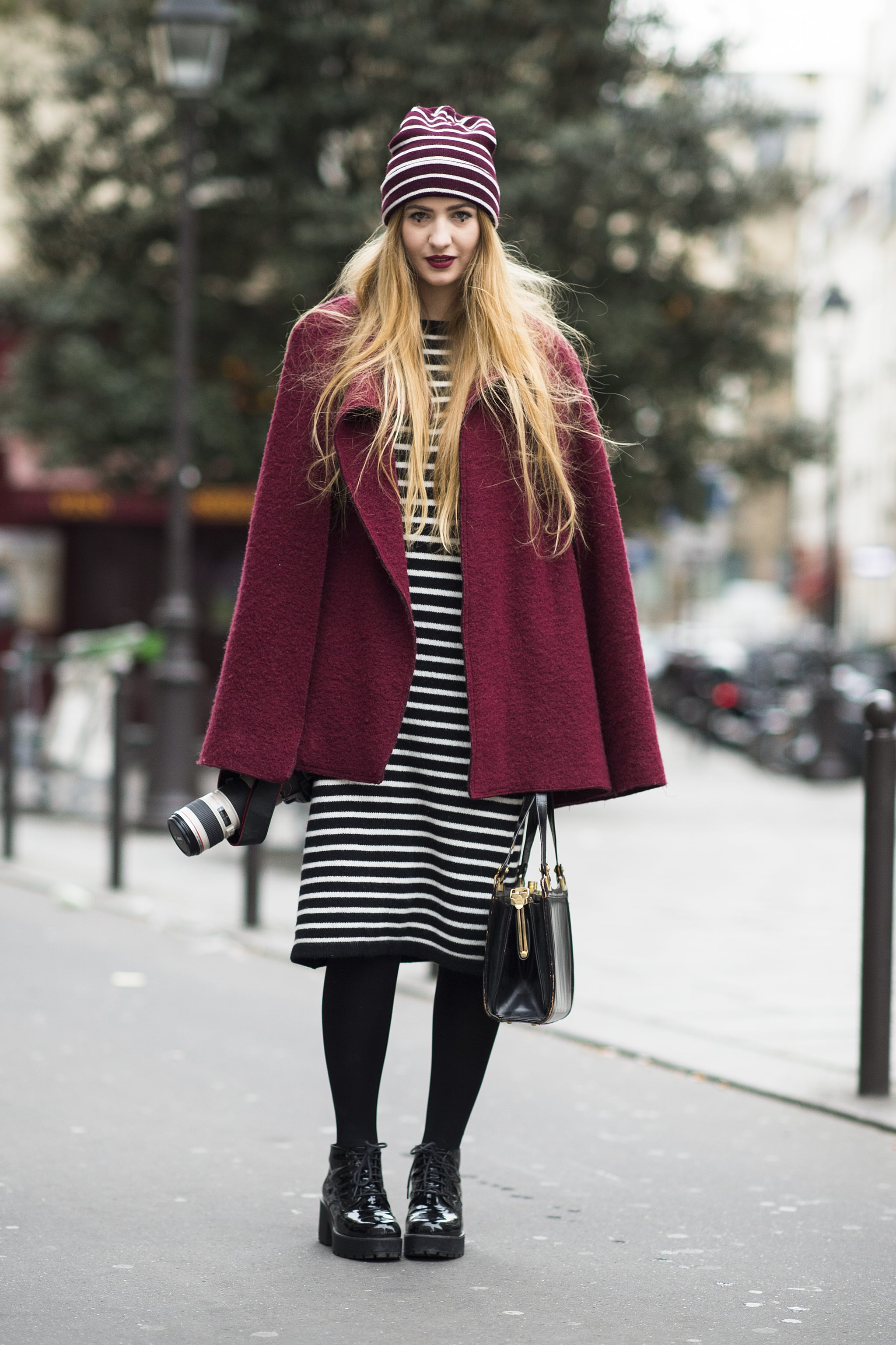 Say hello to seriously coordinated stripes. Source: Le 21ème   Adam Katz Sinding