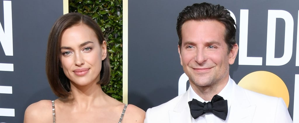 Bradley Cooper and Irina Shayk at the 2019 Golden Globes