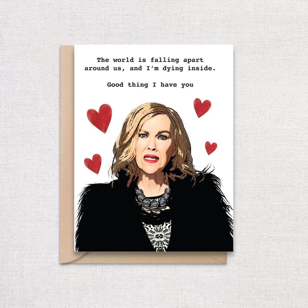 Moria Rose Valentine's Day Schitt's Creek Card