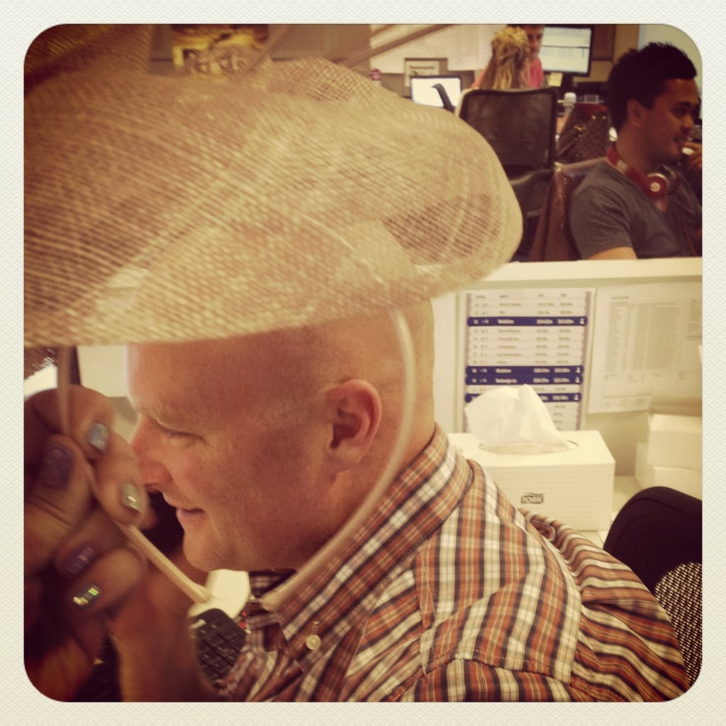 Our Sales Director Ben is bummed he missed out on last week's Doncaster Day races.