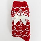 Lindex Exclusive Cosy Fairisle Red Socks