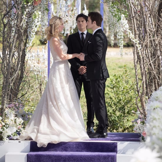 Stefan and Caroline's Wedding on The Vampire Diaries 2017