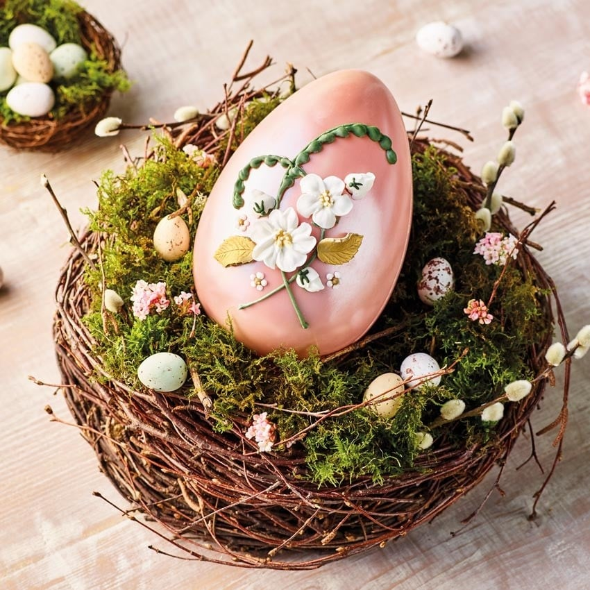 Betty's Hand-Decorated Easter Egg
