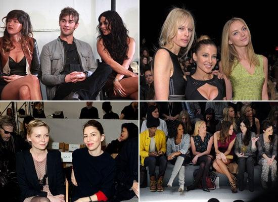 Celebrity Pictures From New York Fashion Week 2011 Fall Vanessa Hudgens, Christina Hendricks, Fergie, Josh Duhamel, Sofia Coppol