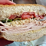 Turkey-Parm Sandwich