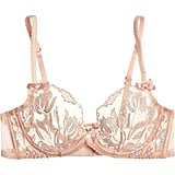 Agent Provocateur Sparkle Embroidered Tulle Underwired Bra, $160