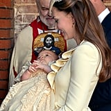 When She Proudly Attended George's October 2013 Christening