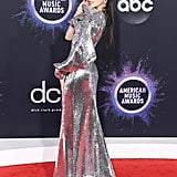 Sofia Carson at the 2019 American Music Awards