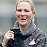 """Zara Tindall on Christmas in 2015: """"Having all the generations of my family together at Christmas is my favorite part of the season. It's a time of year that is about being with people you love, great food, and loads of games to play. Christmas takes on a new magic when you have children. Mia will share this Christmas with lots of her cousins, some very close in age to her, and I think this year will be the one when she really starts to understand it all."""""""