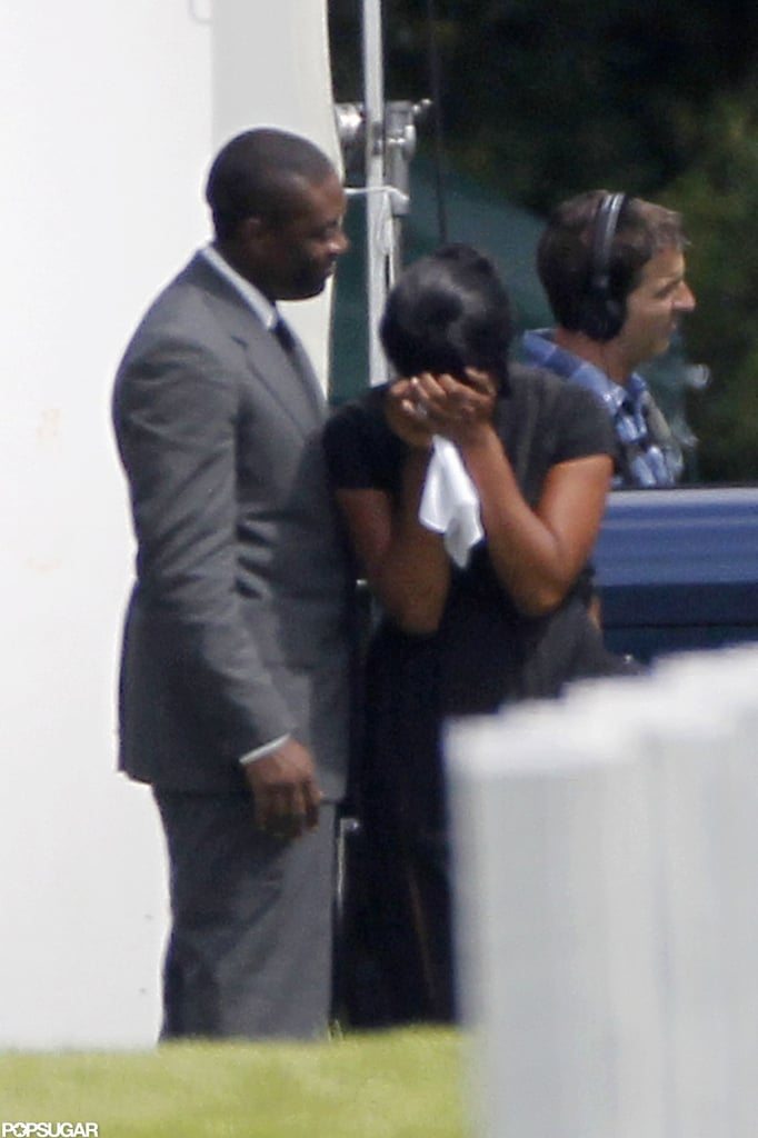 Oprah Winfrey and Forest Whitaker filmed a scene for The Butler.