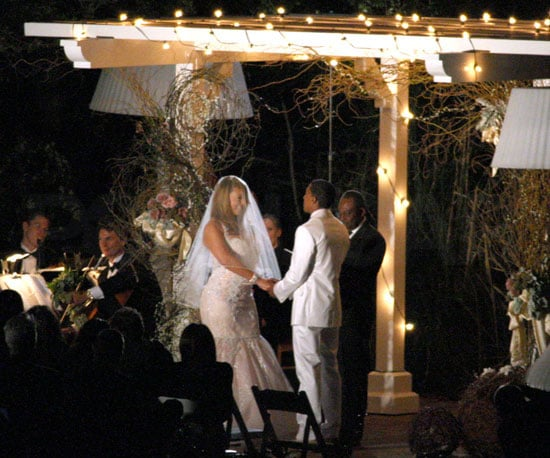 Picture of Mariah Carey and Nick Cannon Renewing Vows