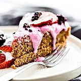 Berry Yoghurt Frosted Flourless Cake