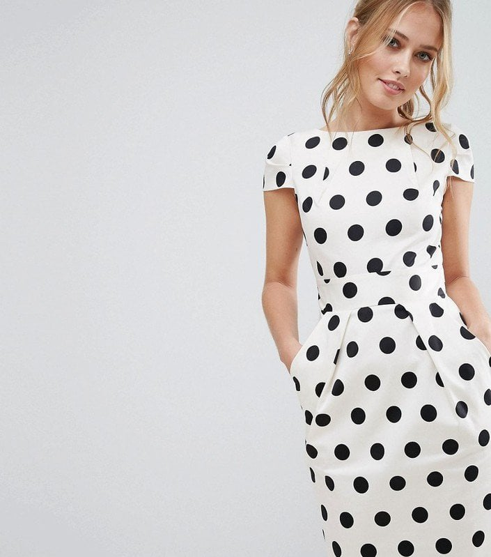 Asos Polka Dot Dress How To Dress Like Princess Diana