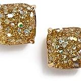 Mini Small Square Stud Earrings