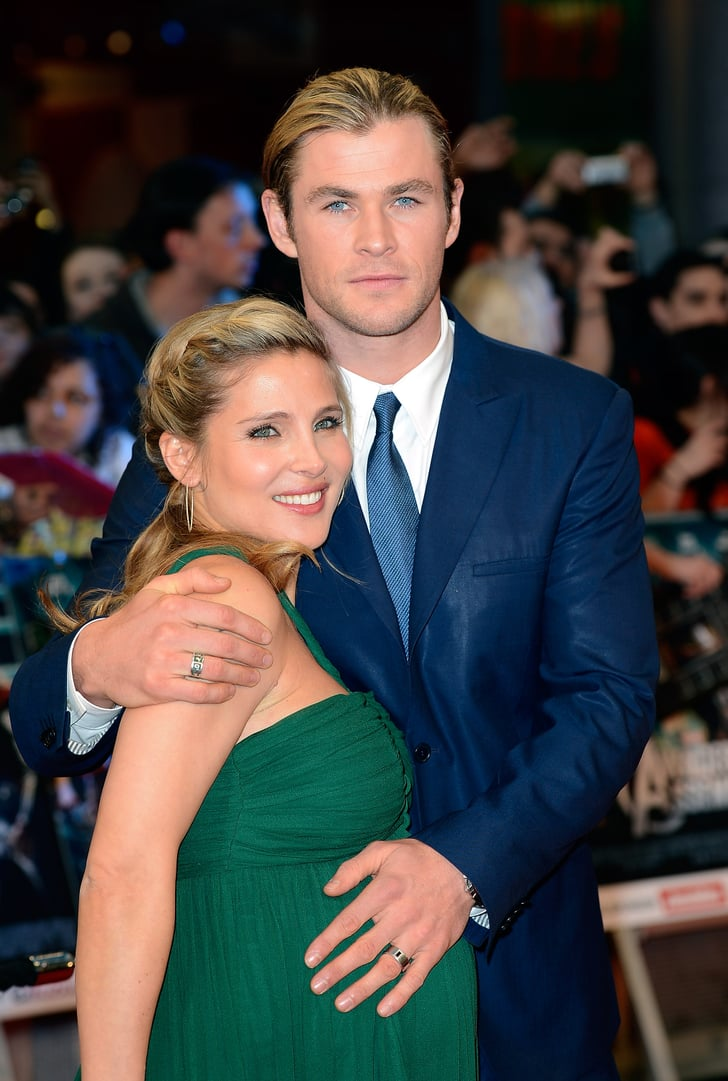 Chris hemsworth and wife elsa pataky welcomed baby india for Elsa pataky y chris hemsworth