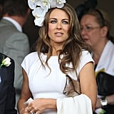Elizabeth Hurley, Oaks Day 2011