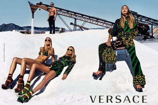 Gigi Hadid Versace Campaign Spring 2016