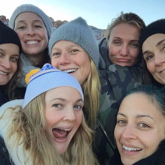 Drew Barrymore Selfie With Gwyneth Paltrow and Cameron Diaz
