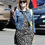 Reese Witherspoon sported a cute outfit on her way to lunch on Monday in LA.